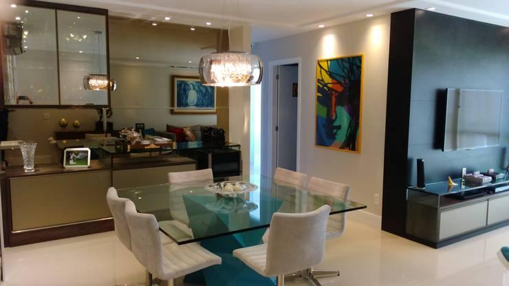 Sala de jantar :   por Caroline Lima Arquitetura
