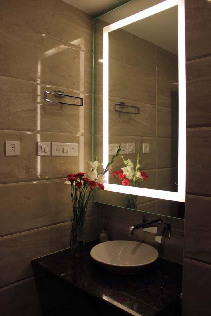 Apartment at Embassay Woods:  Bathroom by In-situ Design