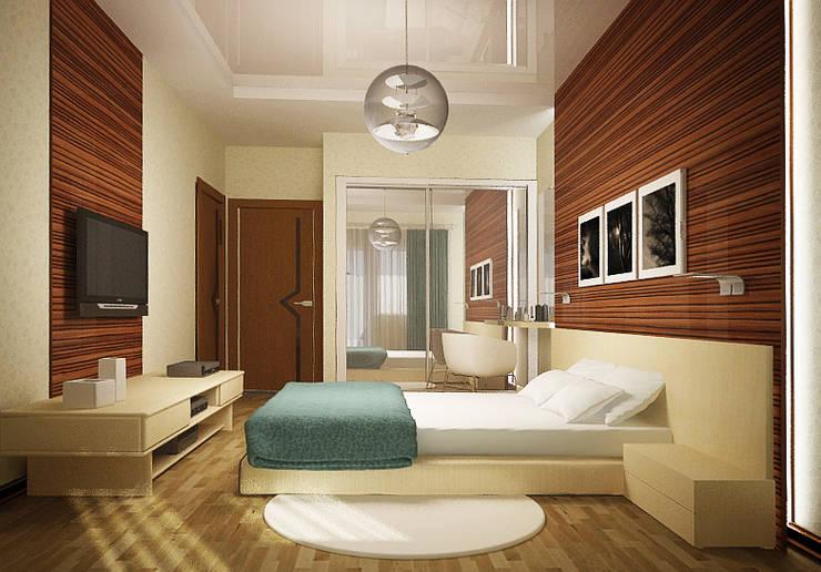 Show room г.Геленджик: Спальни в . Автор – Yana Ikrina Design, Классический