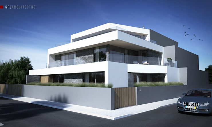 House AV - Paulo Lucas, Arq. Casas modernas por SPL - Arquitectos Moderno