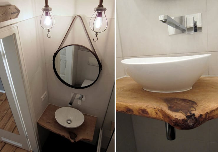 Bagno in stile in stile Moderno di Julia Kosina                                                                                                       Interior Design & Innenarchitektur