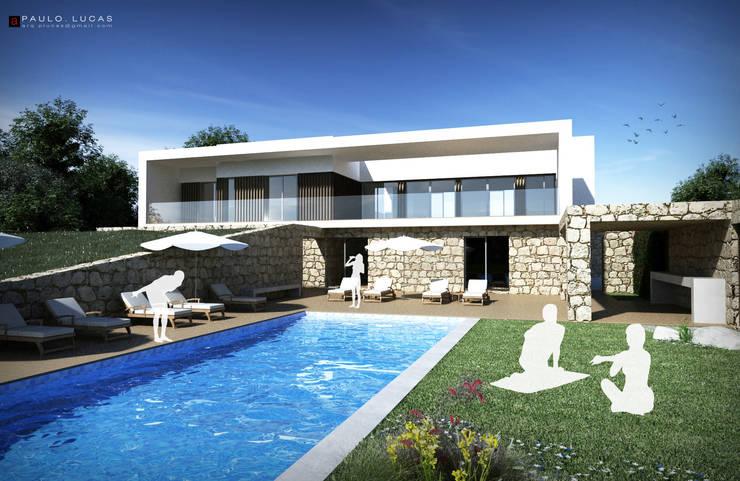 House AS - Paulo Lucas, Arq.: Casas  por SPL - Arquitectos,