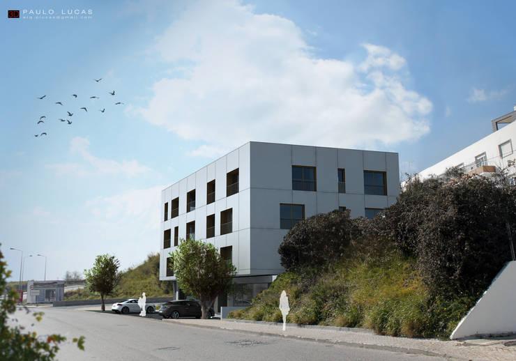 Housing FS - Paulo Lucas, Arq.: Casas  por SPL - Arquitectos,Moderno