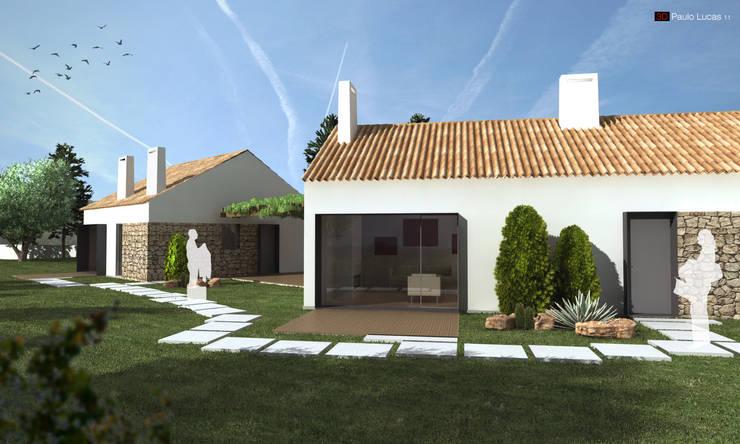 House CP - Paulo Lucas, Arq.: Casas  por SPL - Arquitectos