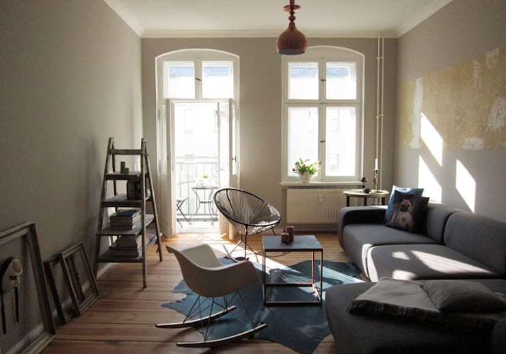 Phòng khách by Julia Kosina                                                                                                       Interior Design & Innenarchitektur