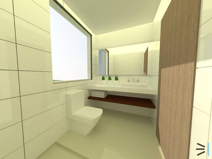 Sanitario 02:  de estilo  por Tres en uno design