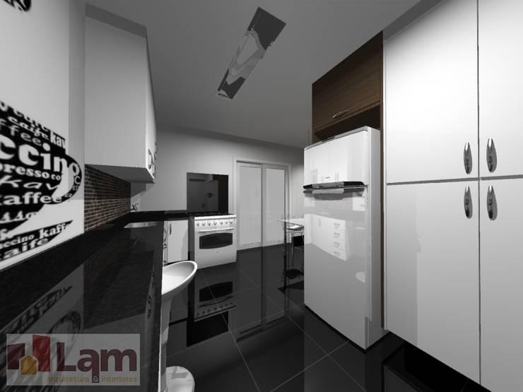 Cozinha - Projeto:   por LAM Arquitetura   Interiores