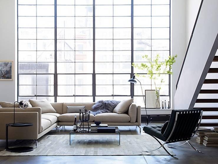 Como Seccional en Tela : Salas de estilo  por Design Within Reach Mexico