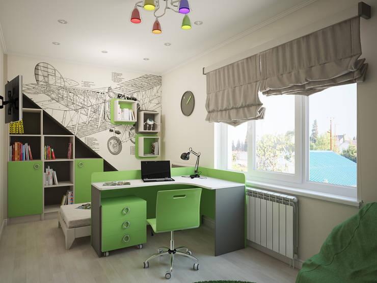 Дизайн-проект детской комнаты: Детские комнаты в . Автор – Artstyle