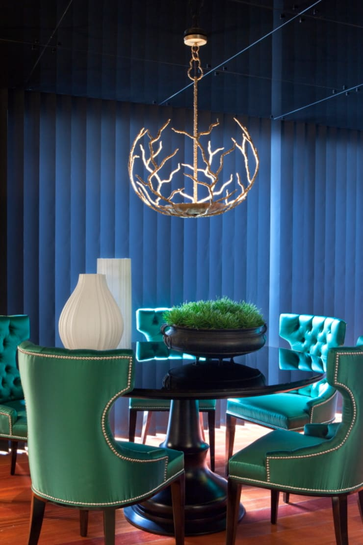 Comedores de estilo ecléctico de Manuel Francisco Jorge interior Design Studio Ecléctico