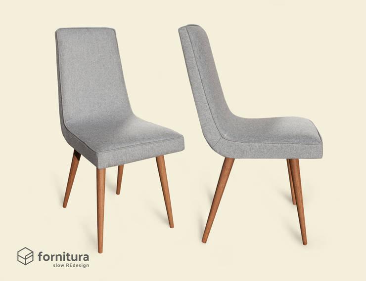Krzesło gięte lata 60-te: styl , w kategorii Salon zaprojektowany przez Fornitura