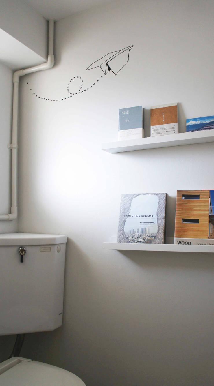 Matsumicho House: イロリイデザインが手掛けた浴室です。,