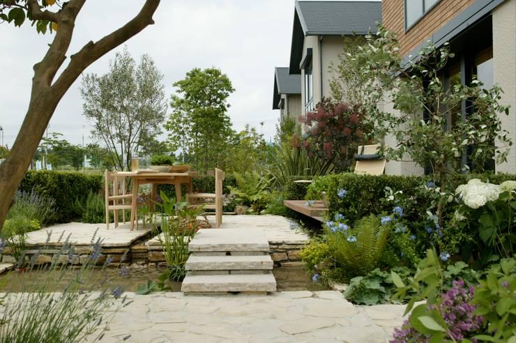 竜ヶ崎の家: (有)ハートランドが手掛けた庭です。,