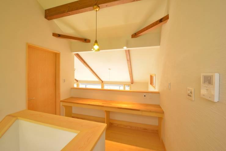 大きな吹き抜けの家: ISO設計室が手掛けたです。