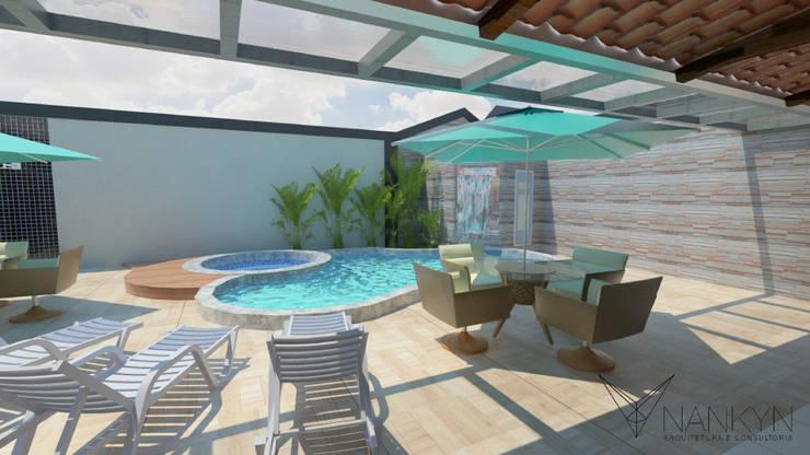 Terraços  por Nankyn Arquitetura & Consultoria