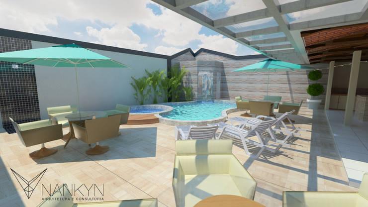Área de Lazer 6: Terraços  por Nankyn Arquitetura & Consultoria