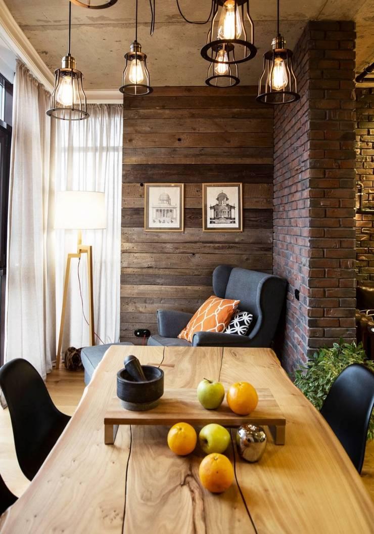 Интерьер с Характером: Столовые комнаты в . Автор – Dinastia Designs