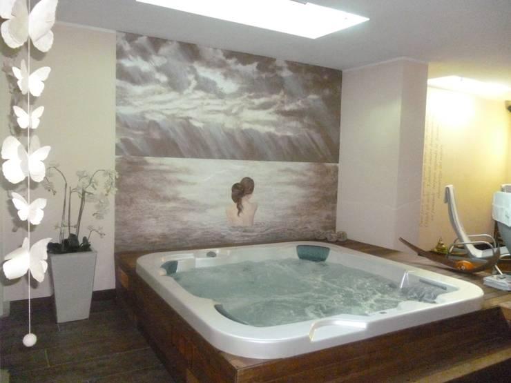 Decorazione ex-novo: Ambientazione Venere: Spa in stile in stile Moderno di Claudia Bambagioni