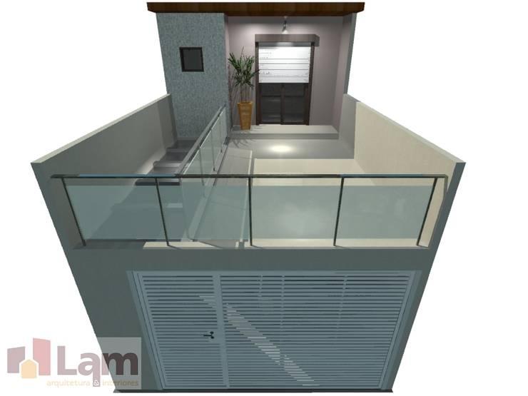 Fachada - Projeto:   por LAM Arquitetura | Interiores