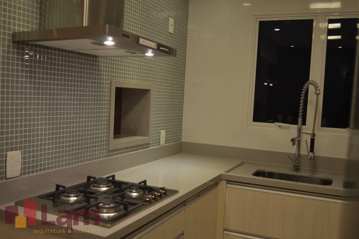 Cozinha: Cozinhas  por LAM Arquitetura | Interiores,