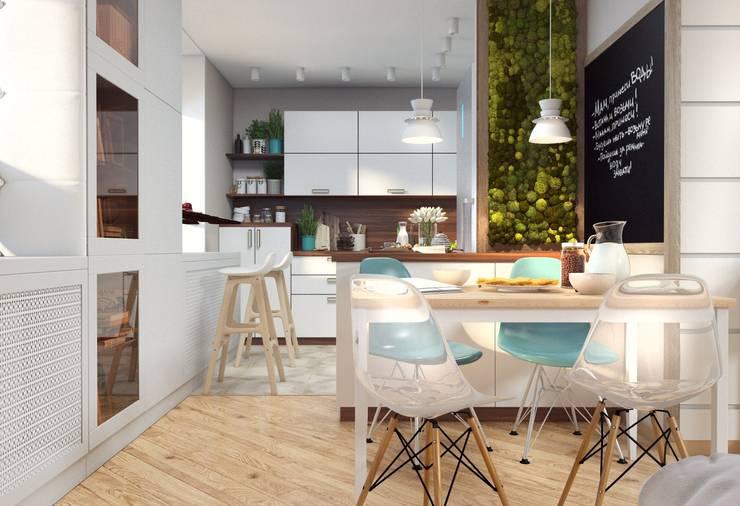 Cocinas de estilo  por Katerina Butenko