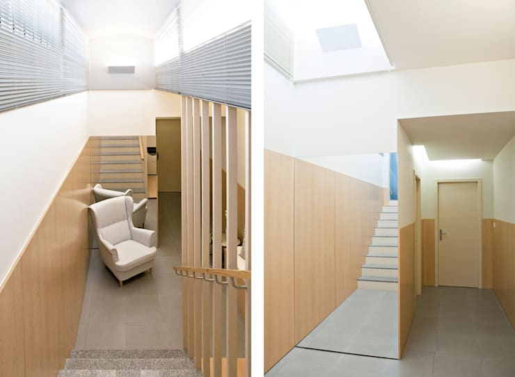 Centro de Estética Carli - Remodelação : Espaços comerciais  por A2OFFICE