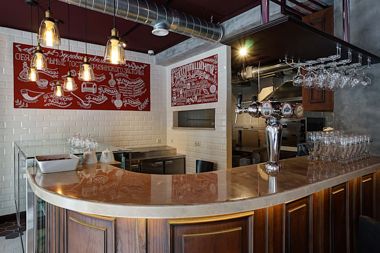 Ресторан Тифлис Гурмэ: Ресторации в . Автор – Tatiana Bezverkhaya Design