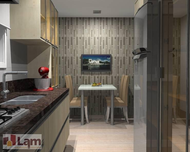 Cozinha - Projeto: Cozinhas  por LAM Arquitetura | Interiores