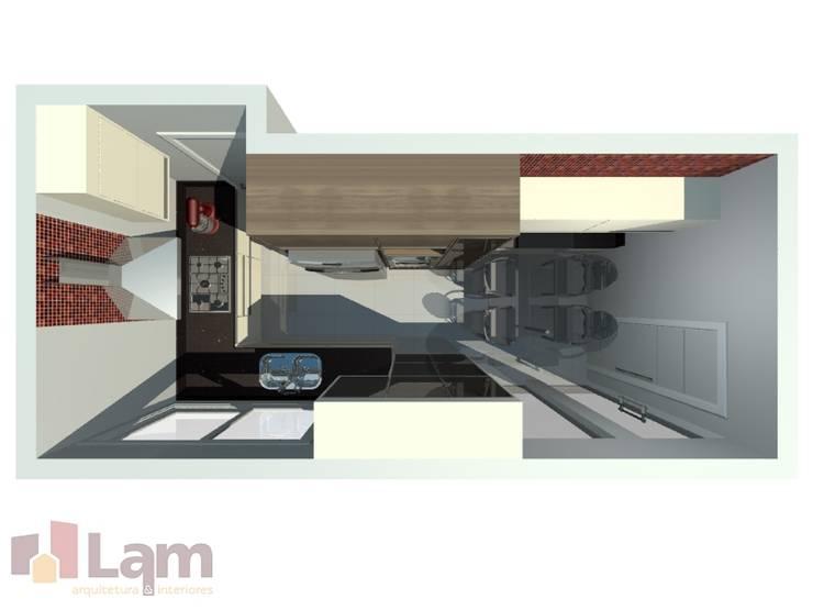 Cozinha - Projeto: Cozinhas  por LAM Arquitetura | Interiores,