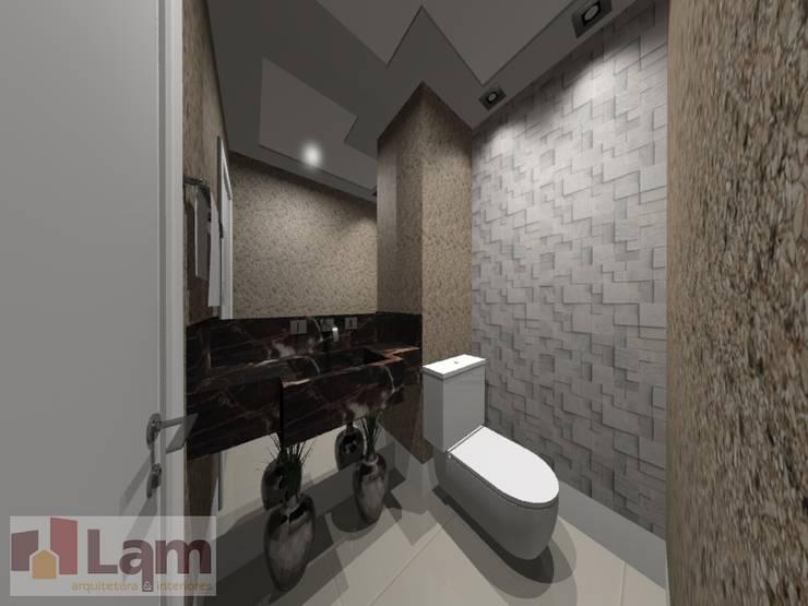 Lavabo - Projeto: Banheiros  por LAM Arquitetura | Interiores,