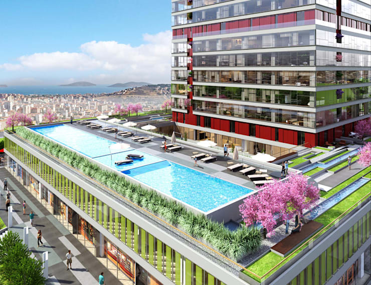 CCT INVESTMENTS – CCT 114 Project in Maltepe:  tarz Evler, Modern