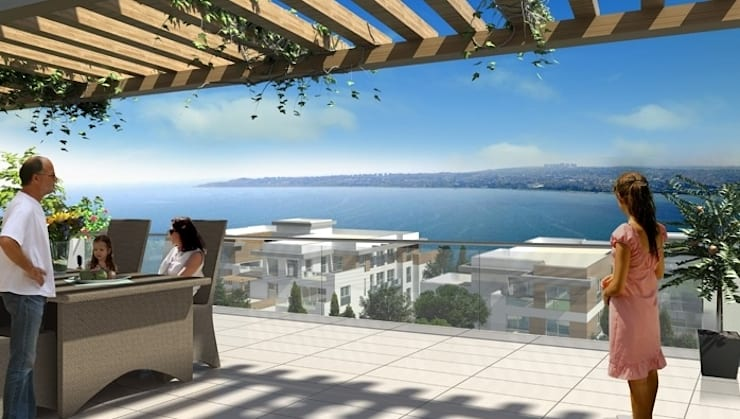 CCT INVESTMENTS – CCT 51 Project in Buyukcekmece:  tarz Teras