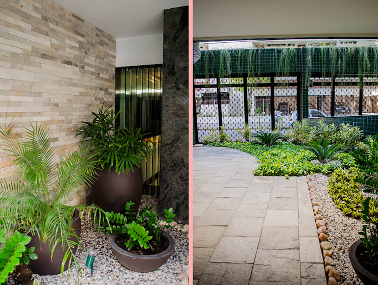 حديقة تنفيذ Andressa Rangel Arquitetura e Interiores