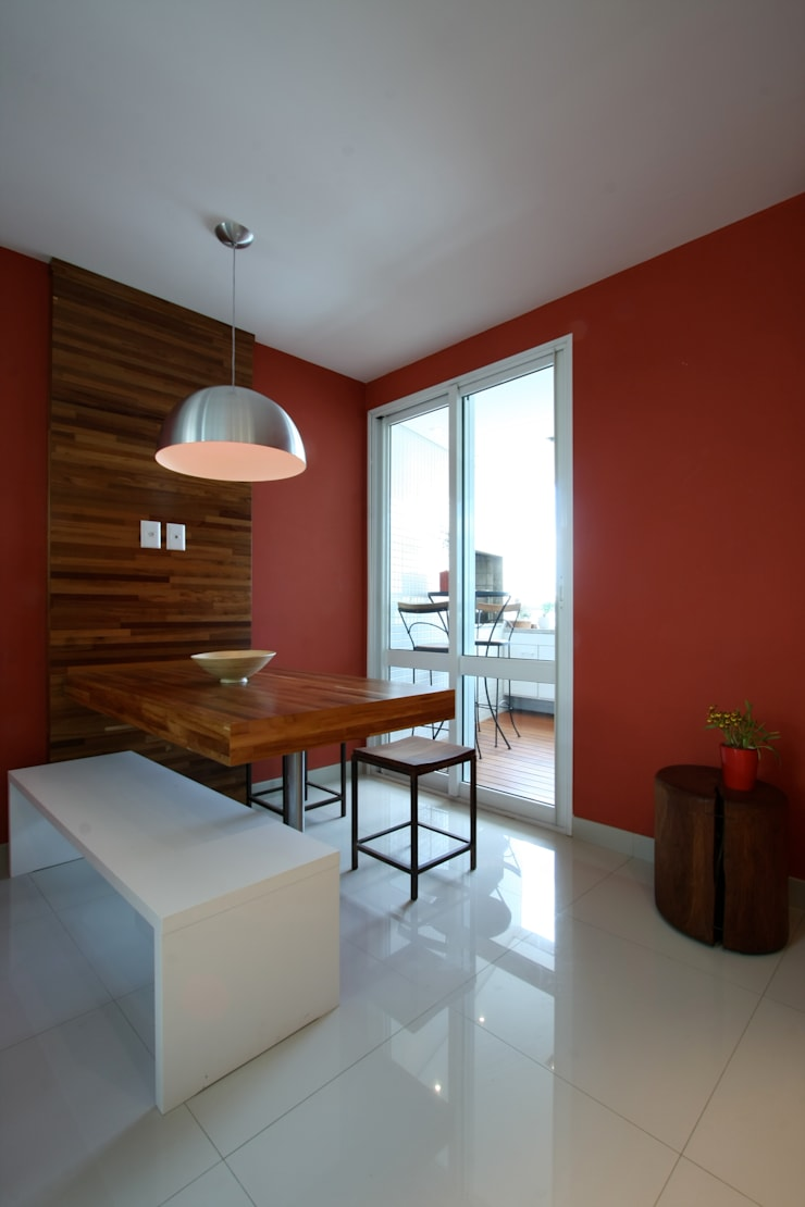 Apartamento Pinheiros 2: Cozinhas  por Officina44