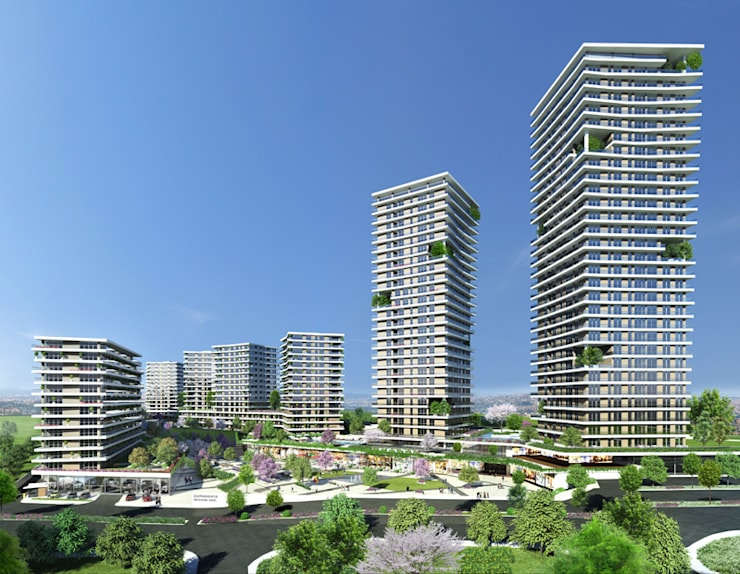 CCT INVESTMENTS – CCT 103 Project in Bahcesehir:  tarz Evler