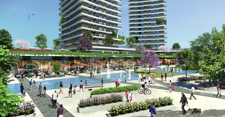 CCT INVESTMENTS – CCT 103 Project in Bahcesehir: modern tarz Evler