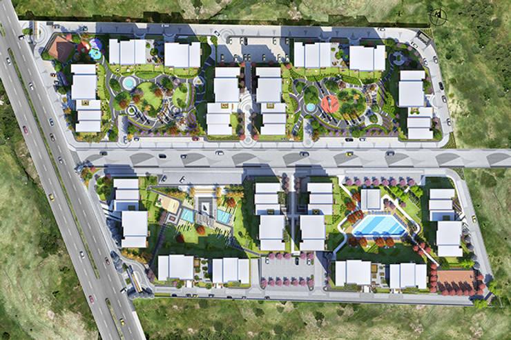 CCT INVESTMENTS – CCT 115 Project in Sancektepe:  tarz Evler, Modern