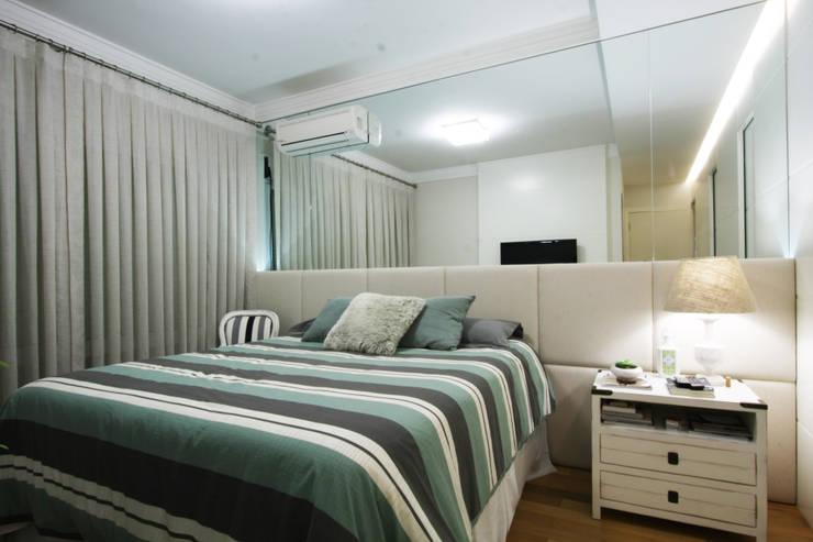 Apartamento Pinheiros 2: Quartos  por Officina44