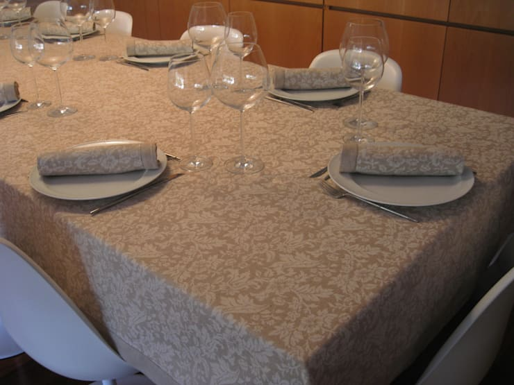 Fotografias artigos: Sala de jantar  por Artegui, Lda - Texteis Lar