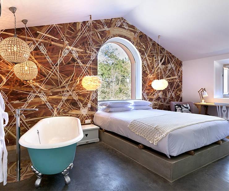 Projekty,  Sypialnia zaprojektowane przez SegmentoPonto4