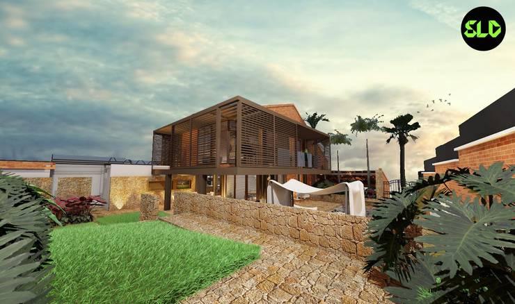 Vivienda: Casas de estilo  por SOLIDO SLD