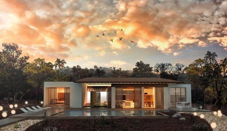 portada: Casas de estilo  por Territorios En Contacto Arquitectos