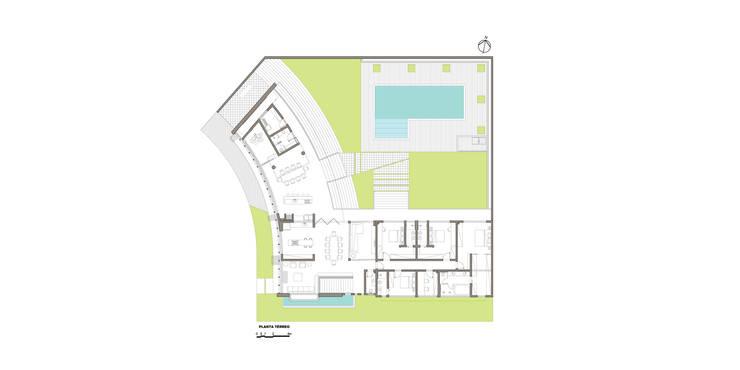 Стены в . Автор – grupo pr | arquitetura e design