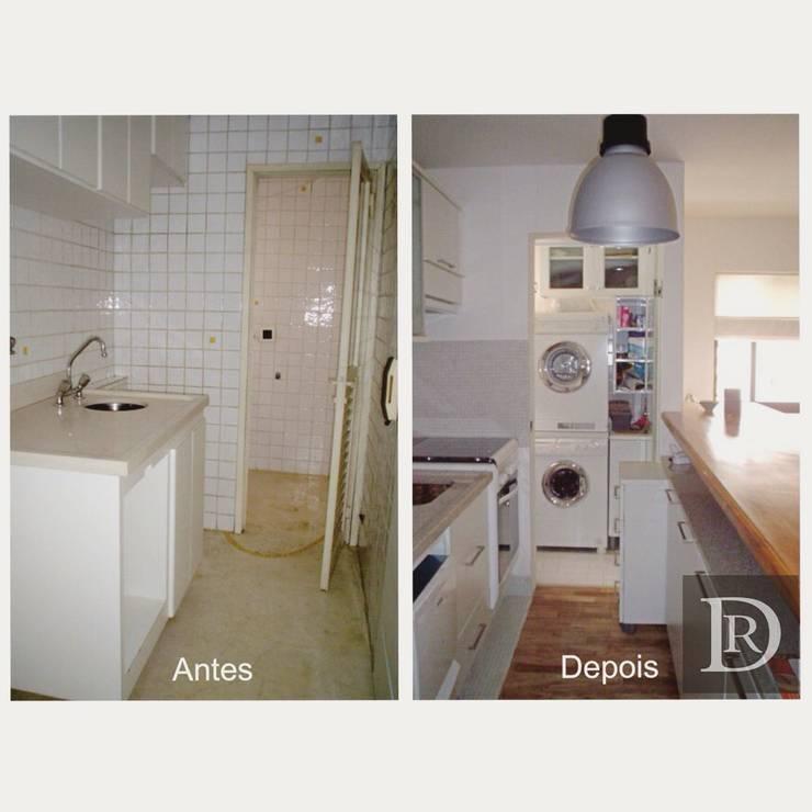 Cozinha:   por Debora de Rezende   arquitetura e interiores