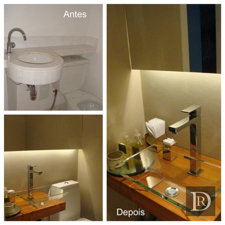 Lavabo:   por Debora de Rezende   arquitetura e interiores