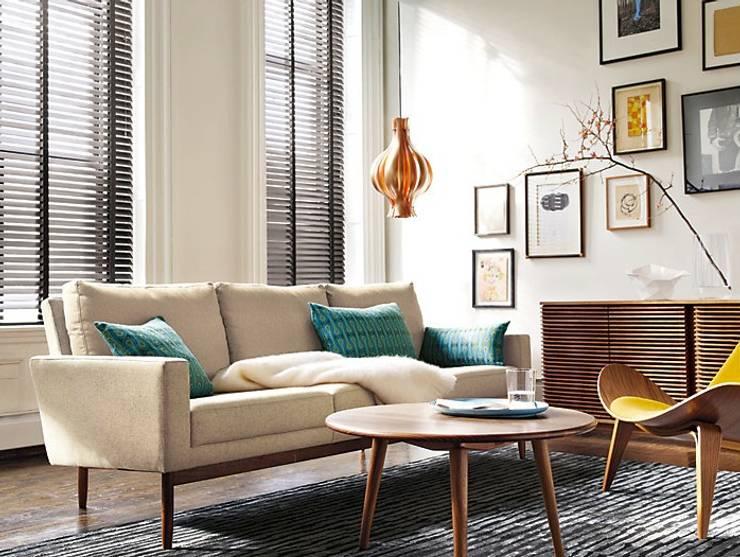 Credenza LINE diseñada por Nathan Yong para DWR. : Salas de estilo  por Design Within Reach Mexico