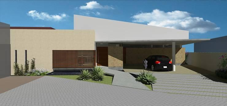 casa bq: Casas  por grupo pr   arquitetura e design