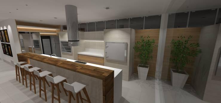 casa bq: Cozinhas  por grupo pr   arquitetura e design