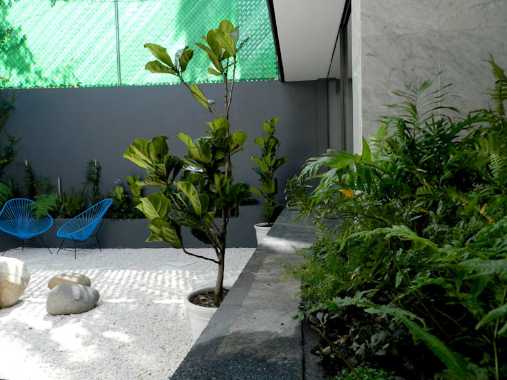 Jardines de estilo  por Paisaje Radical