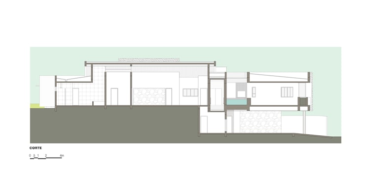 casa ig: Paredes  por grupo pr | arquitetura e design